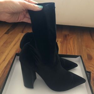 Tony Bianco black ankle boots UNWORN with box